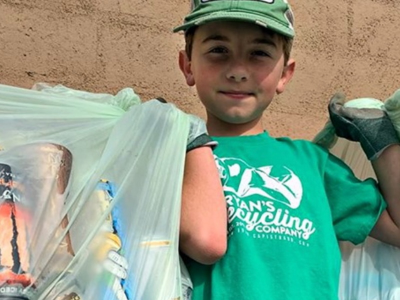 Ryan Inspires Other Kids to Recycle